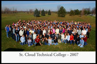 2007 SCTC Staff Photo All Campus Conversation Day Sartell