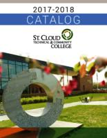St. Cloud Technical & Community College General Catalog 2017-2018
