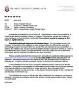 AQIP: Comprehensive Quality Review Report